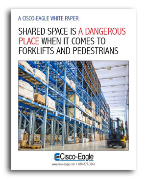 white paper cover - forklift safety