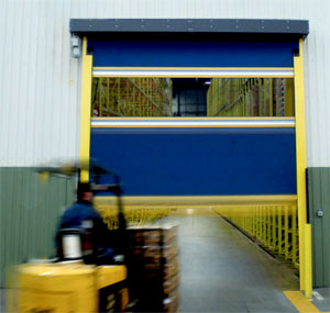 high speed warehouse door