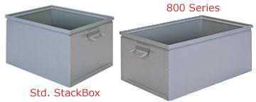 Metal Stacking Boxes
