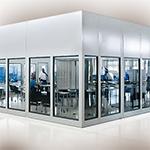 Oficinas dentro de la planta PortaFab