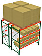 Pallet Rack Flow Modules