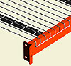 Cubierta de alambre para estantes de tarimas