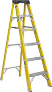 Industrial strength step ladder