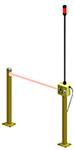 Accesorios y sistema de detección de peatones AisleAlert