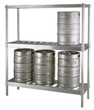 Aluminum Storage Shelving - Industrial