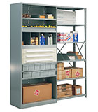 Steel Shelving for Industrial & Warehouse Operations