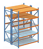 Wide Bulk Shelving & Racks
