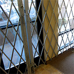 Puertas de seguridad plegables
