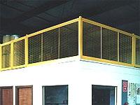 Mezzanine Rails - Wire Mesh - WireCrafters