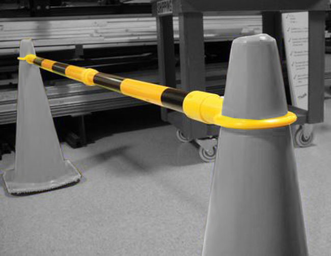 safety cone barrier