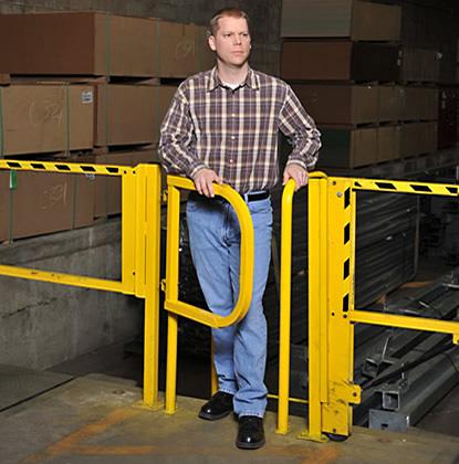 LadderGard Safety Gate