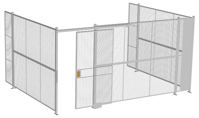 wire security cage Arizona