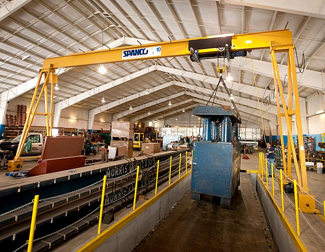gantry crane system