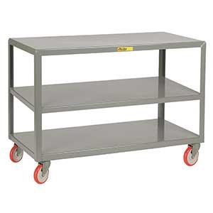 3 Shelf Heavy Duty Mobile Table