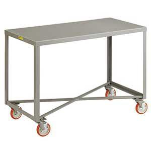 1 Shelf Heavy Duty Mobile Table