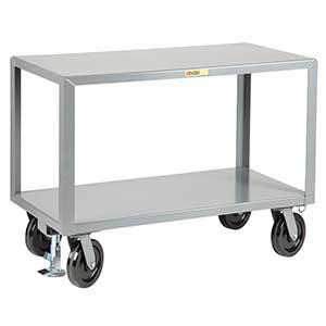 2 Shelf Super Heavy Duty Mobile Table