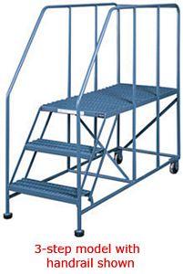 Mobile Platform Ladder 24 Quot X 36 Quot Platform 60 Quot Oah No