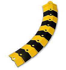 sidewinder cable protective cover adder 1 39 l black yellow. Black Bedroom Furniture Sets. Home Design Ideas