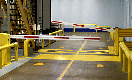 Automated Forklift Aisle Amp Sensor Systems Pedestrian