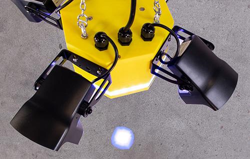 AisleAlert Floor Projection Warning System