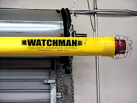 Watchman Sensor Clearance Bars Low Ceiling Or Dock Door
