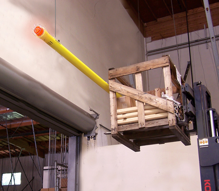 Low Clearance Alarms Forklift Impact Safety Sensors