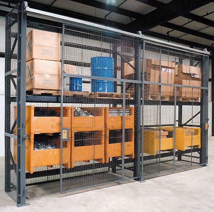 Securing High Value Inventory On Pallet Racks