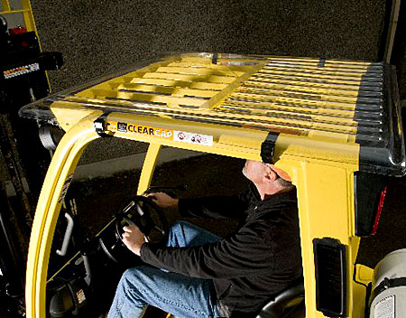 Forklift Cab Covers Clear Fork Truck Overhead Clearcap