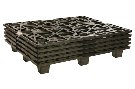 Export pallets fully nested