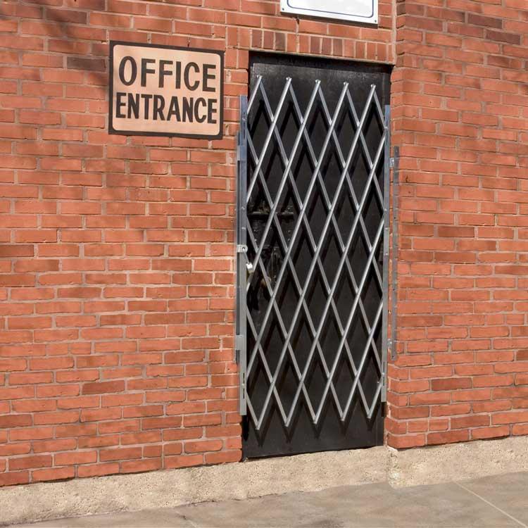 Door gate on an office entrance