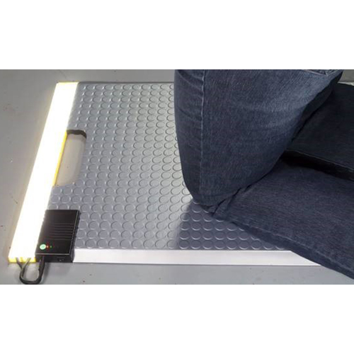 LED Kneeling Mat in Use