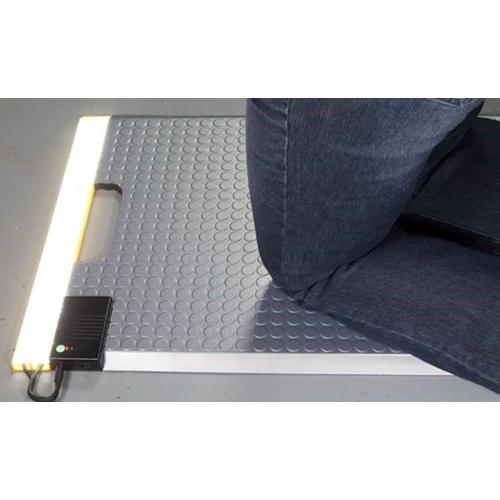 LED Kneeling Mat in Use