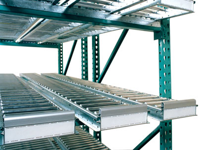 High Profile Span Track Carton Flow