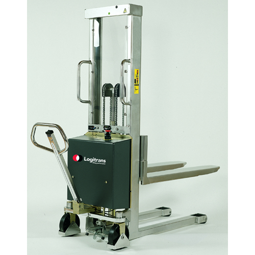 Electric Powered Stainless Steel Stacker