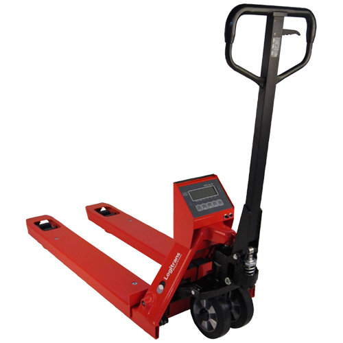 Pallet Truck with Built-In Scale Back View