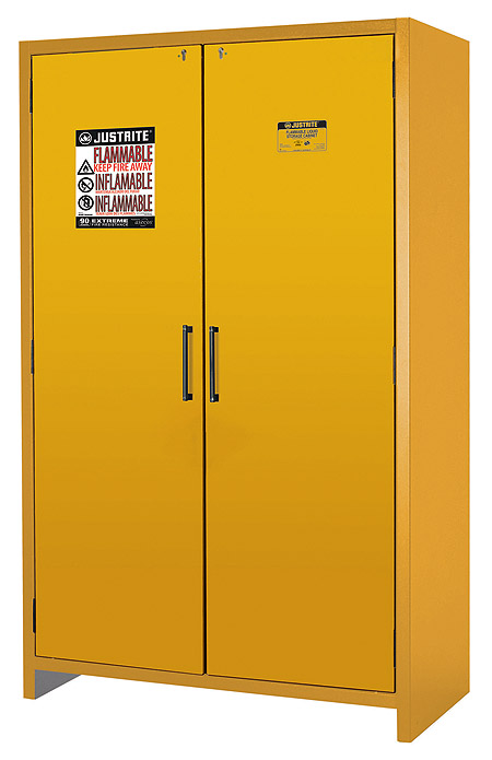Double door cabinet in full view