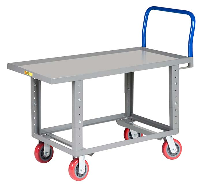 adjustable height platform truck