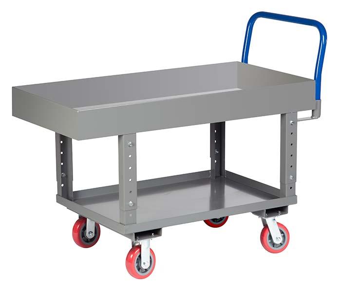 adjustable height platform truck