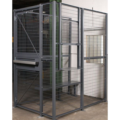 Dock Door Security Cage