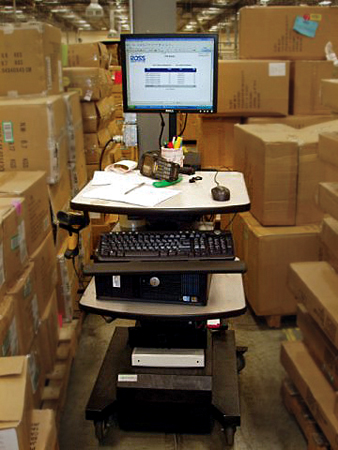 Inventory management is quick and easy when you can take the database to the warehouse aisle being inventoried