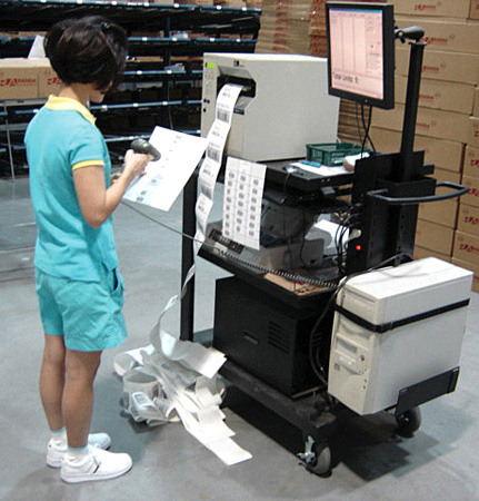 Point of Sale Mobile Work Station