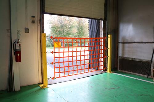 Bolt Down Post - Door Open