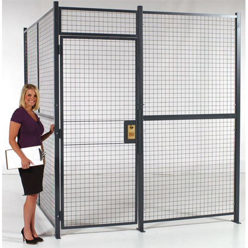 Welded Wire Security Cage (2 Wall System)