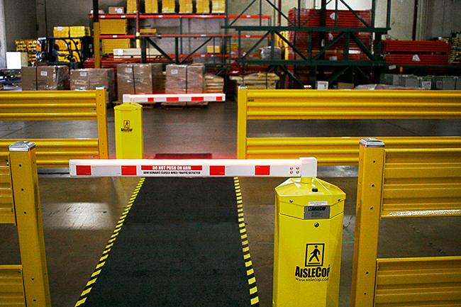AisleCop® Dual Pedestrian Gate System