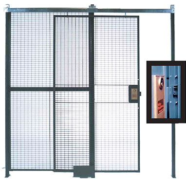 wire security gate