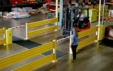 AisleCop Forklift Safety Gate System