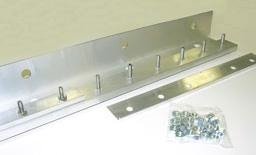 universal hardware strip door mounting system