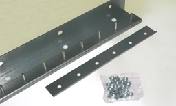universal hardware strip door mounting system