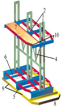 Cantilever Furniture Storage Rack