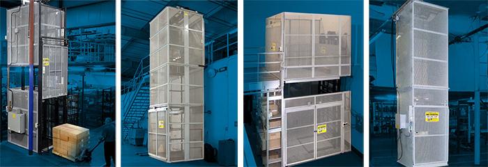 vertical mezzanine lifts
